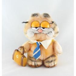 Peluche chat orange Garfield JEMINI