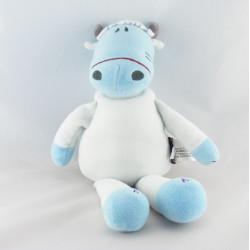 Doudou vache bleu MARESE