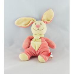 Doudou lapin rose TEX