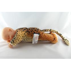 Poupée bébé tigre léopard ANNE GEDDES 40 cm