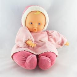 Doudou bébé poupée Baby Pouce rose COROLLE 2000