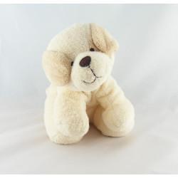 Doudou chien écru beige TIAMO COLLECTION