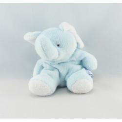 Doudou éléphant bleu COMPTINE
