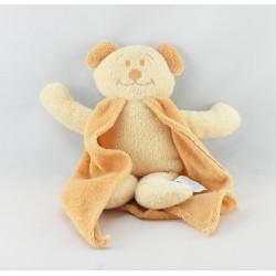 Doudou Ours éponge beige avec cape COMPTINE
