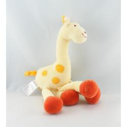 Doudou girafe jaune KIABI BEBE