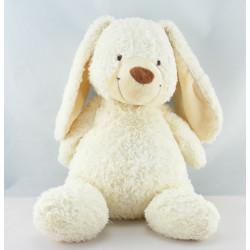 Doudou musical lapin blanc beige NICOTOY