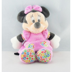 Doudou Minnie robe rose à pois DISNEY NICOTOY CLUBHOUSE
