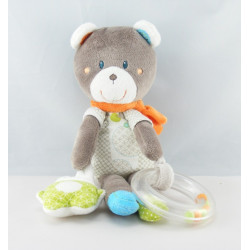 Doudou ours gris beige My Little Teddy NICOTOY 30 CM