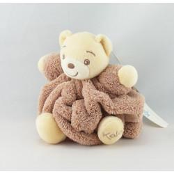 Doudou petit ours Plume mauve KALOO NEUF