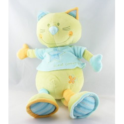 Doudou musical chat mauve rose Sweet compagny SAUTHON