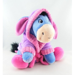 Doudou Bourriquet en pyjama peignoir bleu Disney