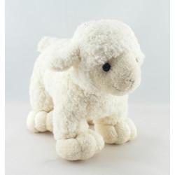 Doudou mouton blanc rose NICOTOY