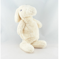 Doudou lapin écru rose IKEA