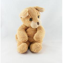 Doudou ours blanc beige LES PETITES MARIE