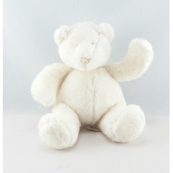 Doudou ours pull laine Basile et Lola MOULIN ROTY
