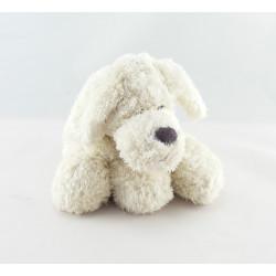 Doudou et compagnie chien blanc marron