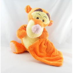Doudou Tigrou avec mouchoir satin Disney Baby