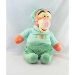 Peluche Tigrou en pyjama vert DISNEY NICOTOY