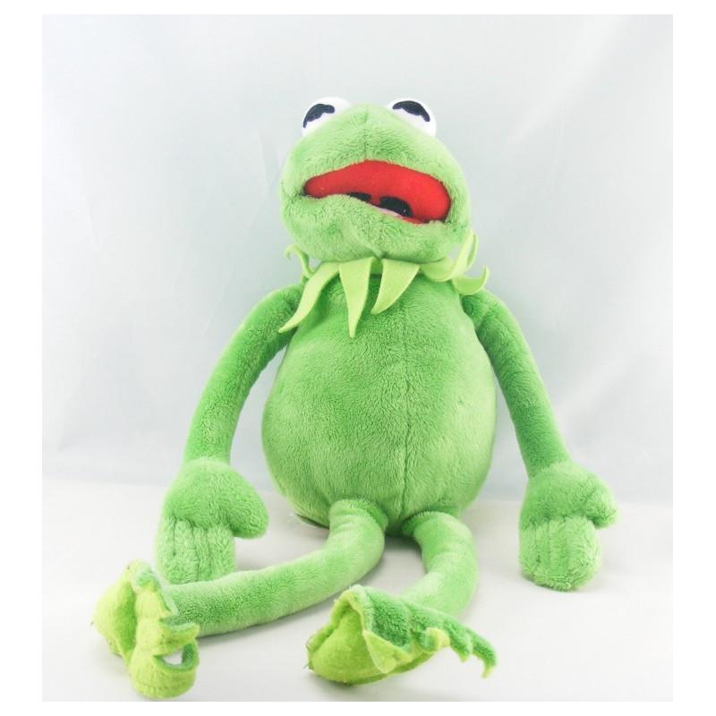 Doudou grenouille verte CMP