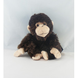 Peluche Singe noir NATIONAL GEOGRAPHIC