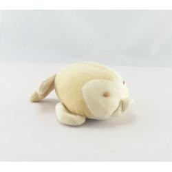 Doudou poisson beige blanc NOUKIE'S
