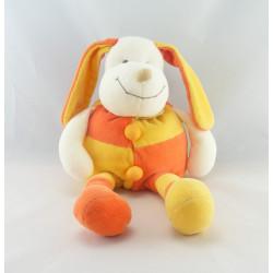 Doudou chien Patou jaune orange DOUDOU ET COMPAGNIE