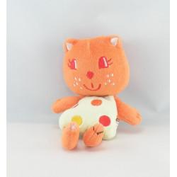 Mini doudou chat orange AUCHAN