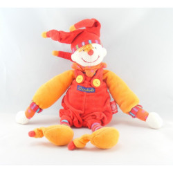 Doudou Capucin Dragobert rouge MOULIN ROTY 30 cm