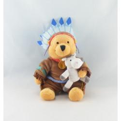 Doudou winnie l'ourson déguisé en Ange Collection DISNEY
