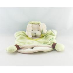Doudou et compagnie marionnette mon lapin Croa grenouille