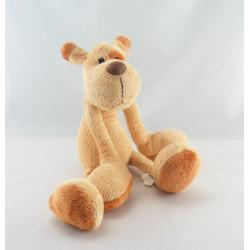 Doudou chien beige marron MAXITA