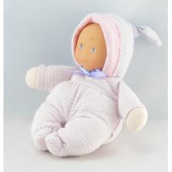Doudou poupon bébé rose COROLLE