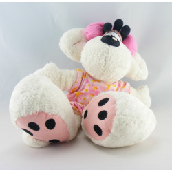 Doudou souris robe rose étoiles chien Diddlina DIDDL