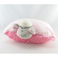 Doudou agneau mouton rose pois NICOTOY