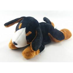 Doudou chien noir marron GIPSY
