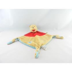 Doudou plat noeuds Winnie l'ourson de Disney Baby