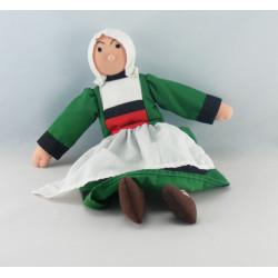 Doudou peluche poupée Bécassine HACHETTE 1999 AJENA
