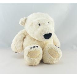 Doudou ours blanc NICI NATURAL