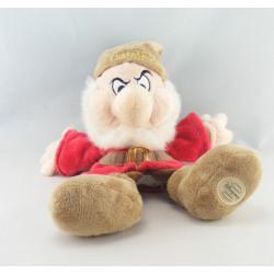 Peluche marionnette Simplet Dopey Les sept nains Blanche neige DISNEY