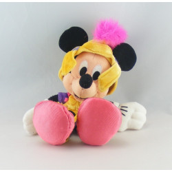 Peluche Mickey en bouffon arlequin DISNEYLAND