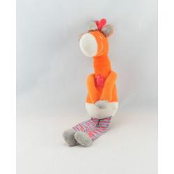 Doudou pour parc girafe orange SAFETY BABY RELAX
