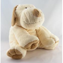 Doudou chien écru beige NICOTOY