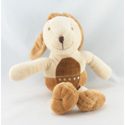 Doudou ours beige robe à pois CIAD