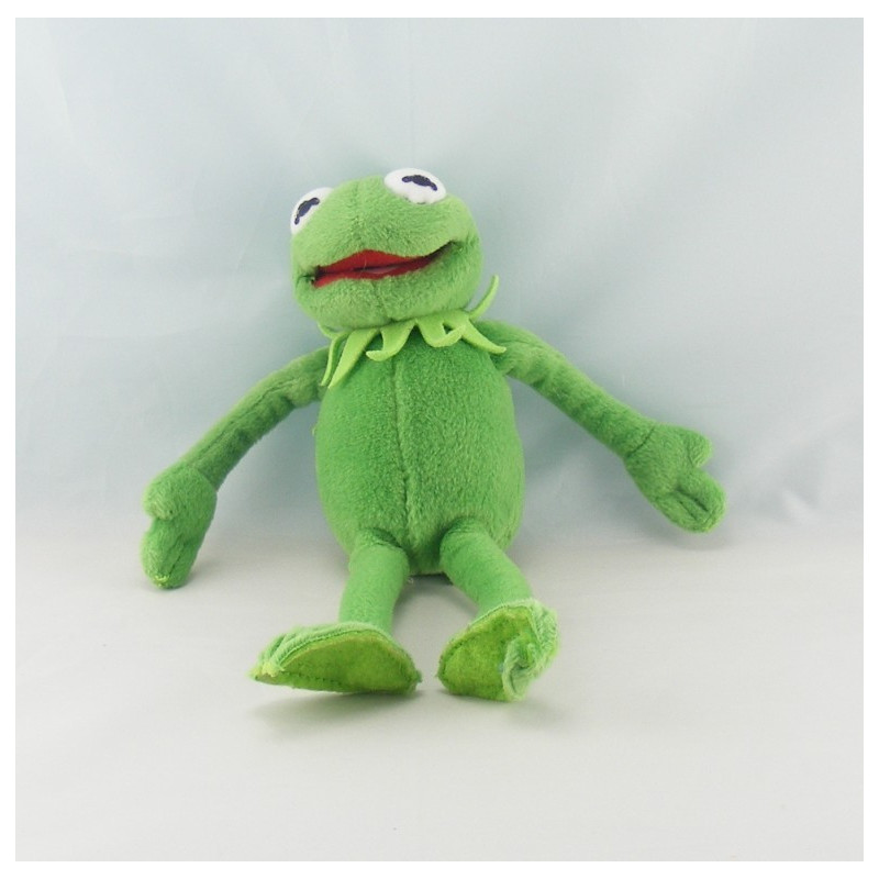 Doudou peluche Kermit la grenouille MUPPETS LANSAY