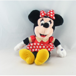 Peluche Minnie robe rouge à pois DISNEYLAND