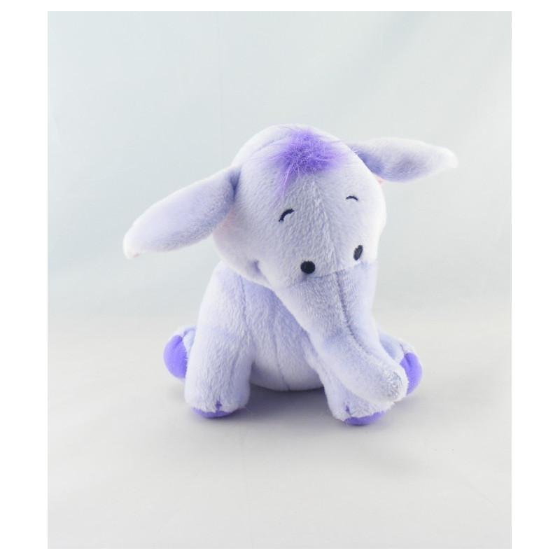 Doudou Eléphant Bleu - l'éfélant Lumpy ami de Winnie - Disney