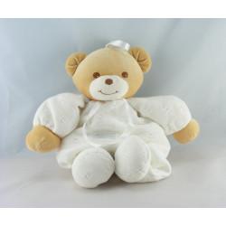 Doudou ours blanc laine TAKINOU