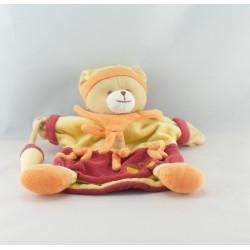 Doudou et compagnie plat marionnette lapin bleu tendresse TATOO
