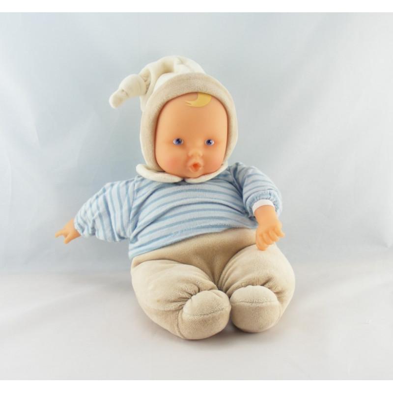 Doudou bébé poupée Baby Pouce bleu COROLLE 2002