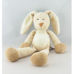 Doudou musical lapin beige blanc NICOTOY